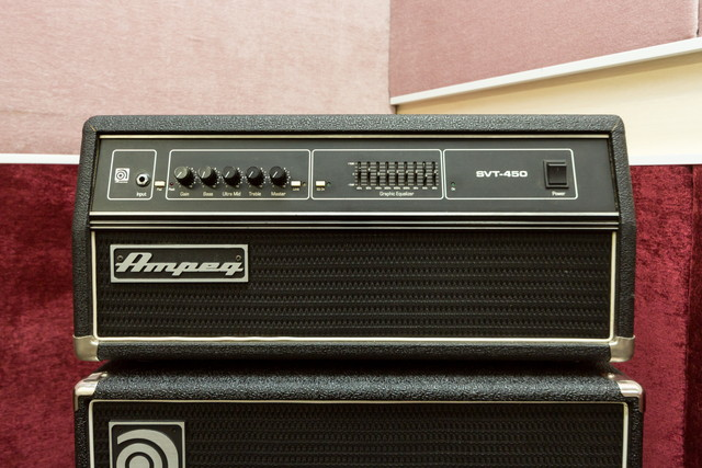Bass Head Amp Ampeg SVT-450H